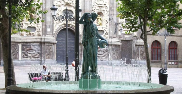 Samaritana plaza del Justicia