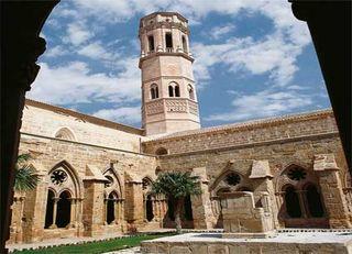 Claustro del Monasterio de Rueda