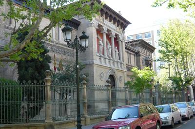Museo de Zaragoza, en la Plaza de los Sitios