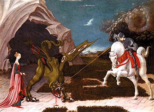 Resultado de imagen de san jorge dragon