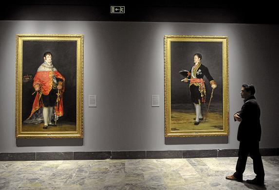 Fernando VII y el Duque de San Carlos