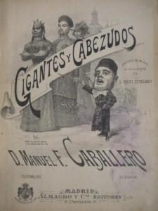 Zarzuela Gigantes y Cabezudos