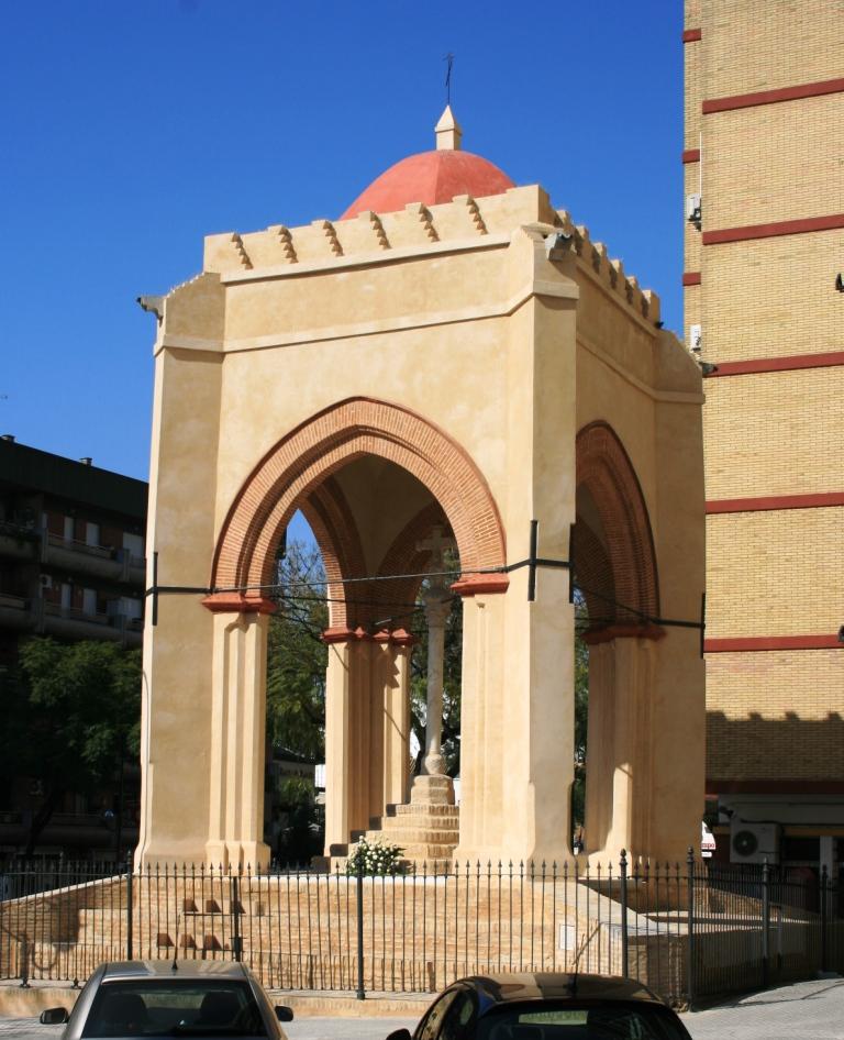 Semana santa ins lita sevilla y el viacrucis de la cruz for La fabrica del mueble sevilla