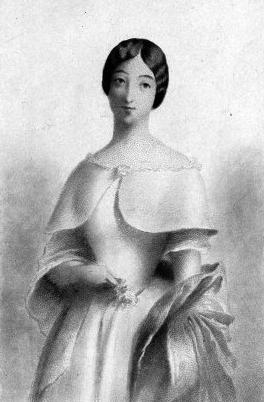Marie Duplessis, poco antes de morir con 23 años