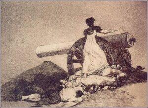 sitios Agustina de Aragón cañón Goya